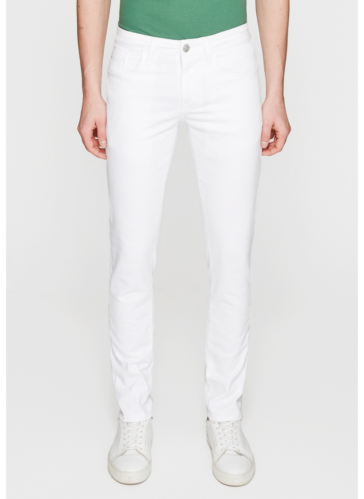 Mavi Jean Pantolon   James – Super Skinny 0042423856 James Comfort Beyaz Jean Pant – 149.99 TL